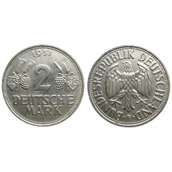 Germany - 2 Mark 1951 F