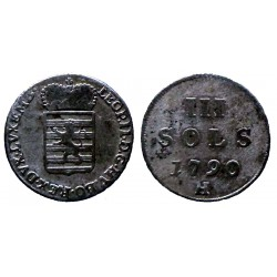 Luxembourg - III sols 1790 H